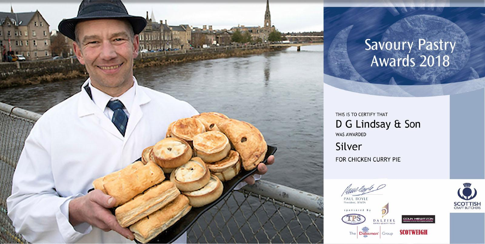 Savoury Pastry Awards 2018 - Silver - Two